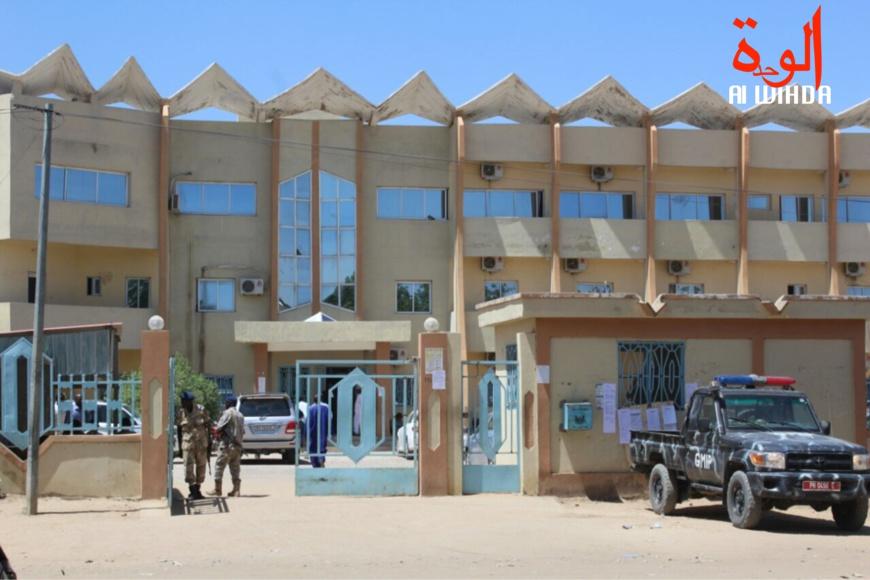 Le Palais de justice à N'Djamena. © Alwihda Info