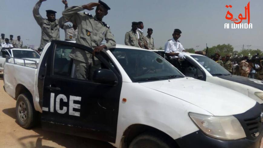 Des véhicules de police au Tchad. ©Alwihda Info