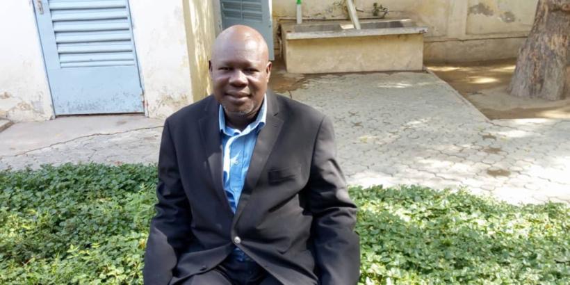 Badono Daigou le président du Parti l'Union des Ecologistes Tchadiens. © Alwihda Info