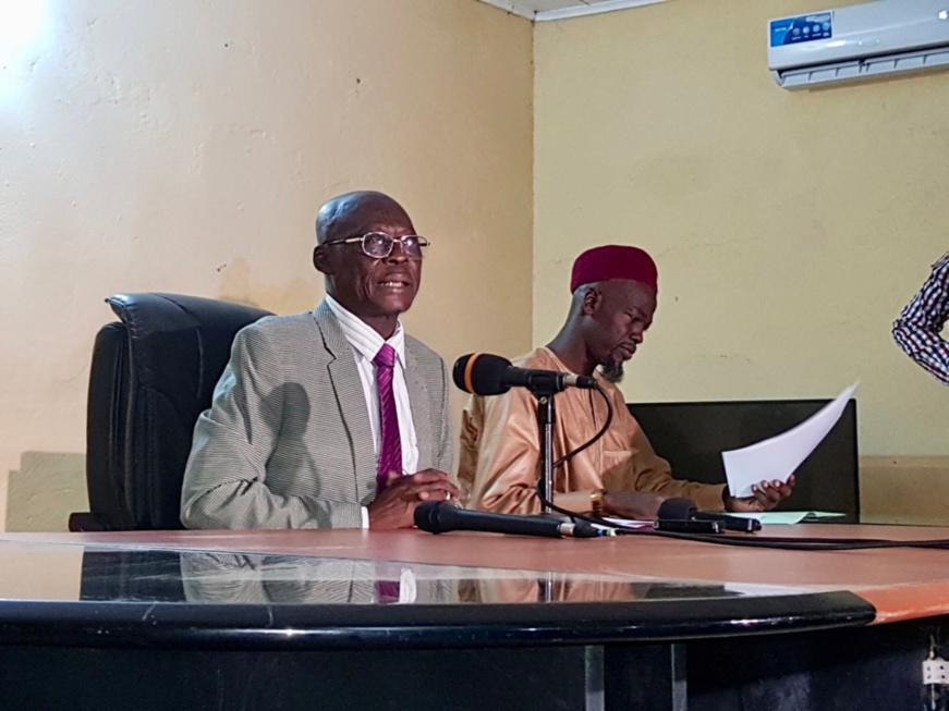 Le chef de file de l'opposition Romandoungar Felix Nialbe. © DR
