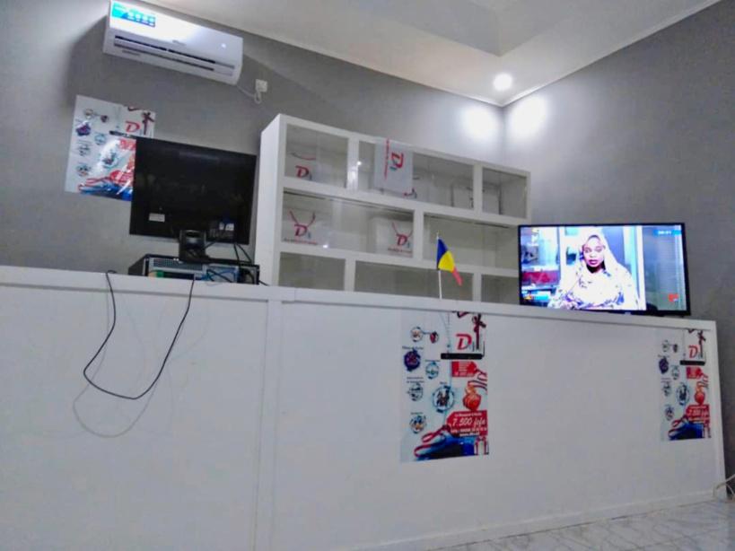 N'Djamena : une agence Digital-Com ouverte dans le 8ème arrondissement. © Alwihda Info