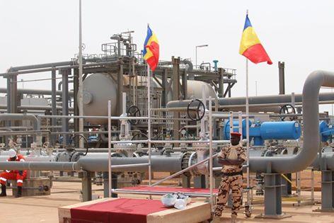 Une installation pétrolière à Mangara. © DR