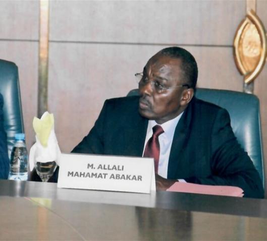 Le ministre des Finances et du Budget, Allali Mahamat Abakar. ©DR/MFB