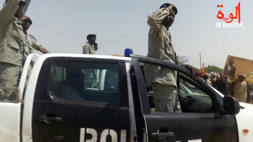 Un véhicule de police au Tchad. © Alwihda Info