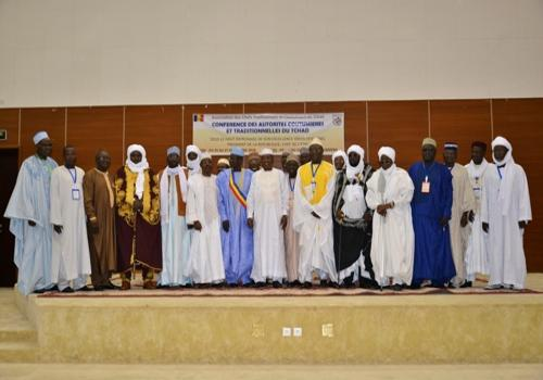 Des chefs traditionnels réunis lors d'une conférence à N'Djamena. © DR