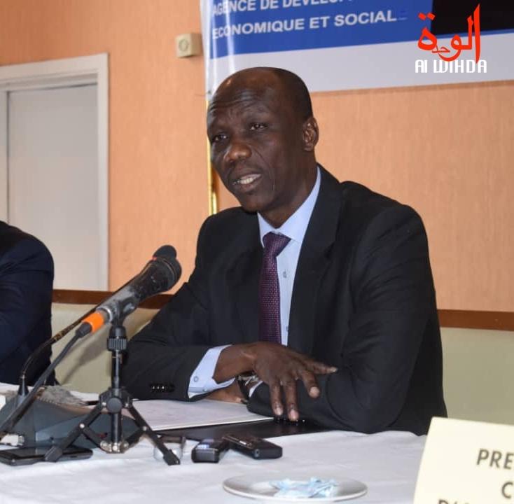 Le ministre de l'Economie et de la Planification du développement, Issa Doubragne. © Alwihda Info
