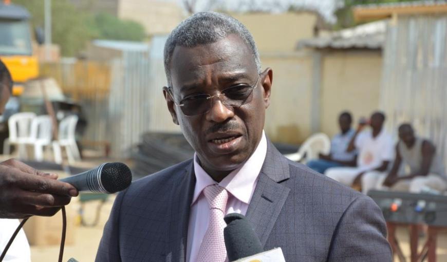 Saleh Abdel-Aziz Damane, maire de la ville de N'djamena. © DR