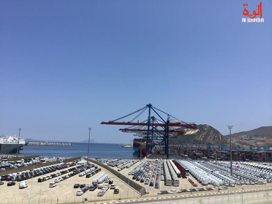 Maroc : Med II, à la découverte de l'un des plus grands ports d'Afrique. © Alwihda Info