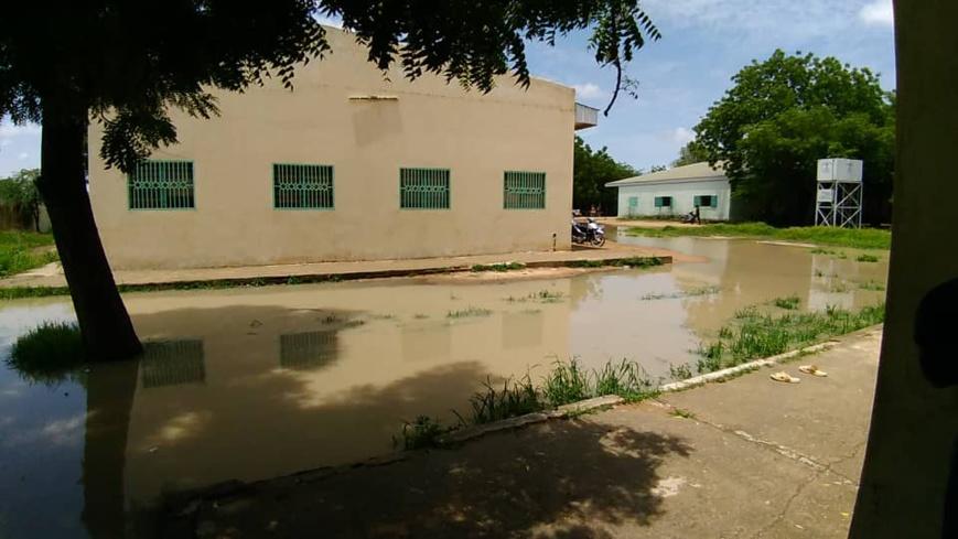 Tchad : le calvaire des étudiants en saison pluvieuse. © Alwihda Info