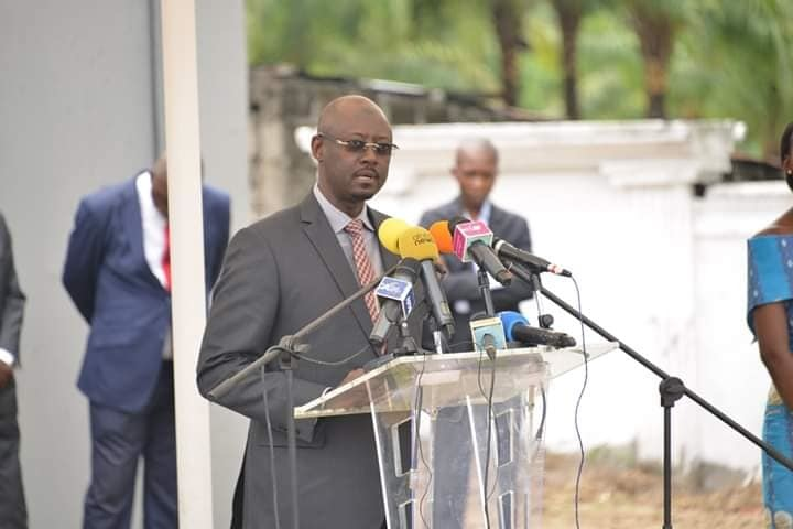 Le Gouverneur de la BEAC, Abbas Mahamat Tolli. © Alwihda