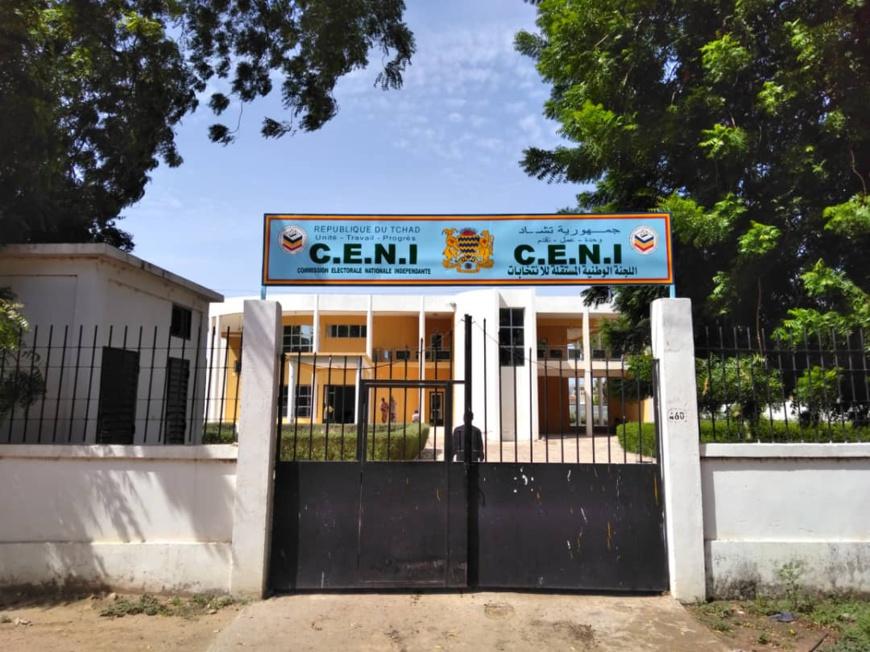 Le siège de la CENI au Tchad. © Alwihda Info