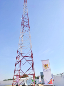 Inauguration le 13 juillet 2019 du réseau à fibre optique Tchad/Soudan à N'Djamena. © Alwihda Info
