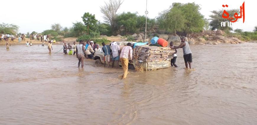 Le Ouadi de Mourra à 45 km d'Abéché, au Ouaddaï. © Alwihda Info