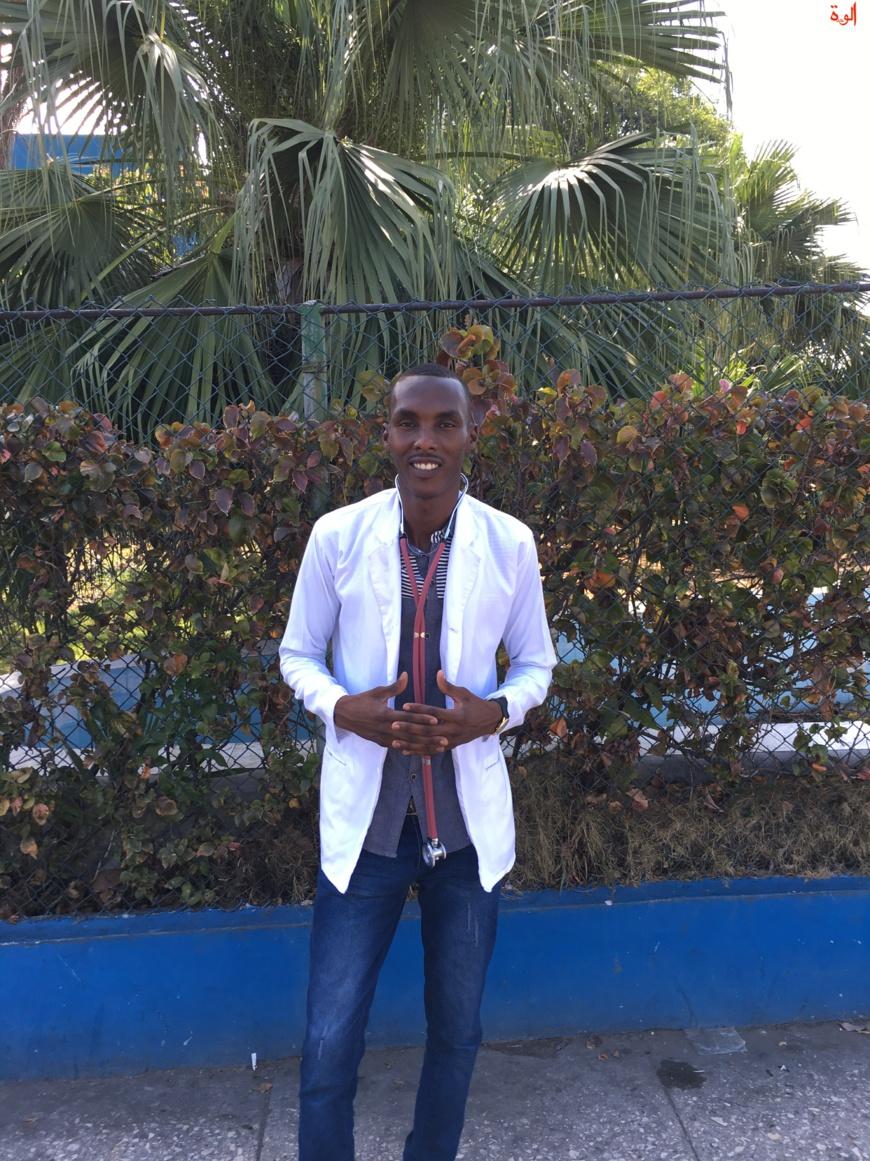 Un étudiant tchadien. La Havane, Cuba. © Alwihda Info