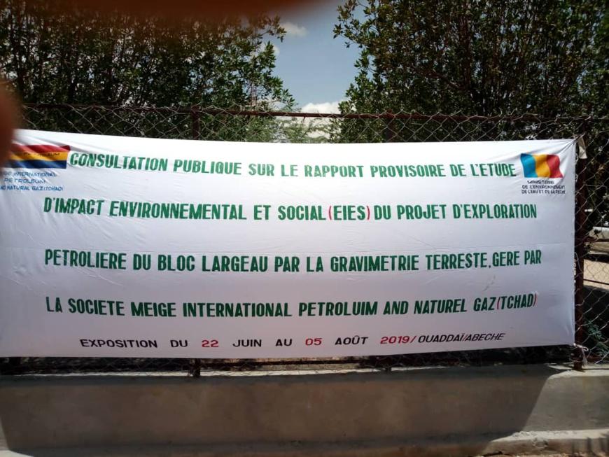 Tchad : étude d'impact sur le projet d'exploitation pétrolière du bloc Largeau. © Alwihda Info