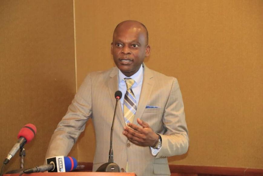 Le ministre Robert Dussey. © RD