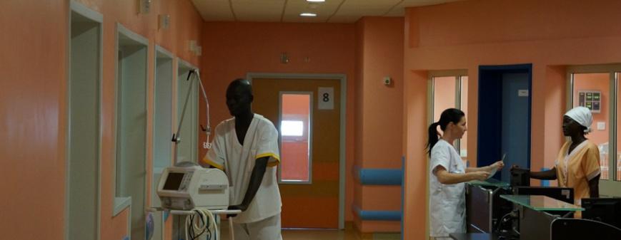 L'hôpital de la Renaissance au Tchad. © DR