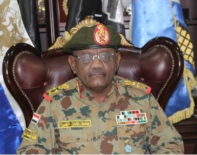 Le chef d'état-major de l'armée soudanaise, le général Hashim Abdul Muttalib. ©DR