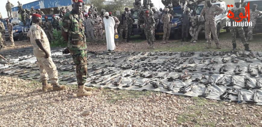 Tchad : un désarmement rassurant à l'Est, le ministre de la défense s'en félicite. © Alwihda Info/D.H/H.C.T