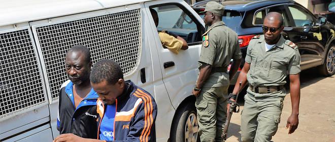 Près de 600 détenus de la prison centrale de Yaoundé, opposants politiques et séparatistes anglophones, se sont mutinés le 23 juillet dernier.  © STRINGER / AFP