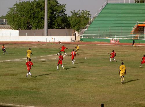 Le stade Idriss Mahamat Ouya à N'Djamena. © DR