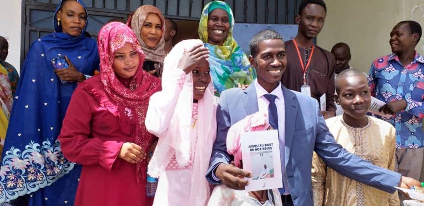 """Tchad : Mariam Nasrine nous emmène """"jusqu'au bout de nos rêves"""" dans son nouveau livre. © Alwihda Info"""