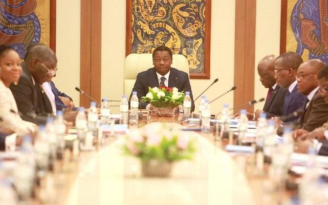 Togo : compte rendu du conseil des ministres. © DR