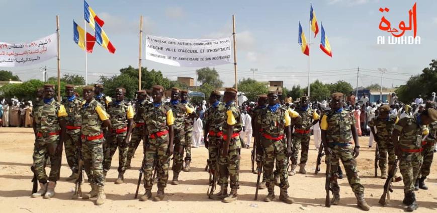 Tchad : imposant défilé militaire à Abéché