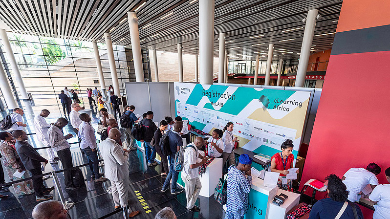 eLearning Africa, 28 septembre 2018. © Photographs: Dominik Tryba, © ICWE GmbH