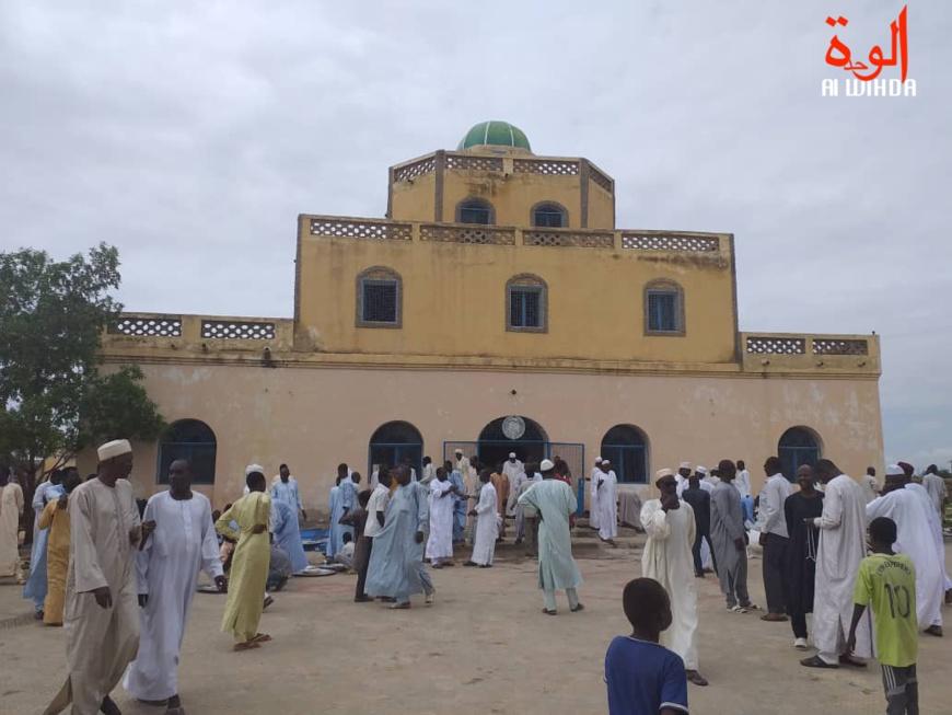 Le Palais du sultanat abbasside du Dar Ouaddaï, le 13 août 2019. © Alwihda Info