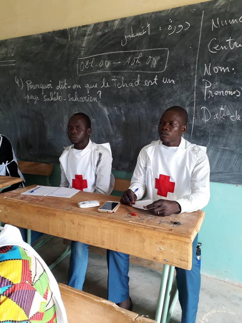 Tchad : les jeunes se forment en secourisme et aux premiers secours. © Alwihda Info