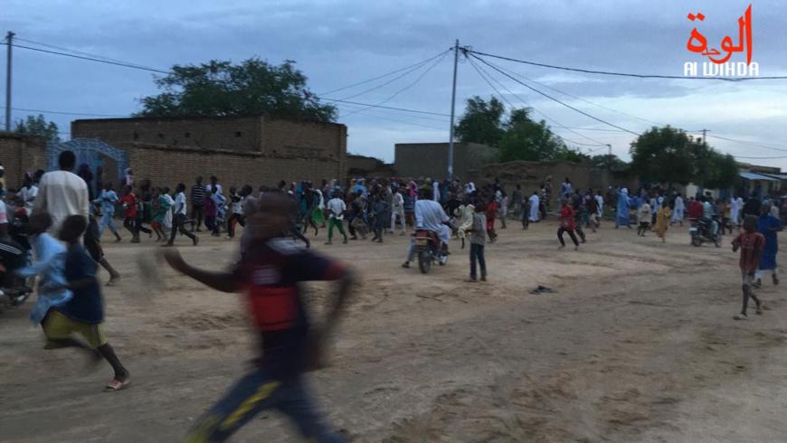 Tchad : les forces de l'ordre délogent les occupants du Sultanat d'Abéché. © Alwihda Info