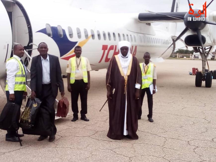 Tchad : le Sultan Chérif Abdelhadi accueilli à Abéché. © Alwihda Info