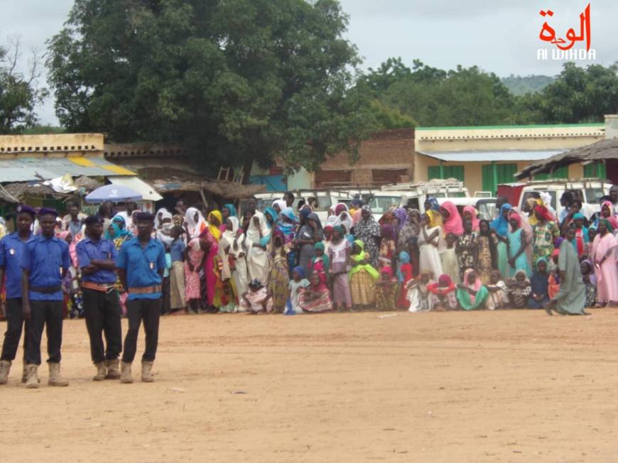 Tchad : la ville de Goz Beida se mobilise ce dimanche 18 août 2019 pour l'accueil du président. ©Alwihda Info