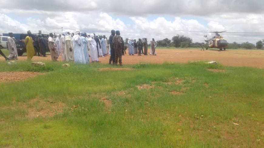Tchad : Déby regagne Abéché après une brève visite à Goz Beida. © Alwihda Info