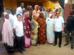 """Made in Tchad"" : la commercialisation de la farine à prix abordable à N'Djamena. © Alwihda Info"