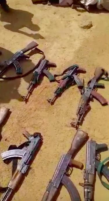 Tchad : de nombreuses kalachnikovs saisies dans des villages à l'Est. © Capture d'écran Alwihda Info