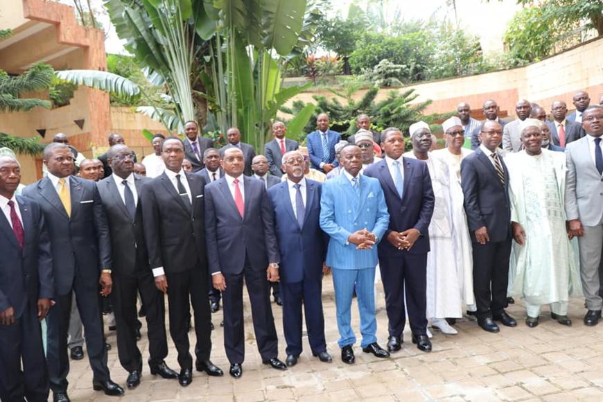 Le Tchad et le Cameroun font le point sur leur coopération. © Tchad Diplomatie