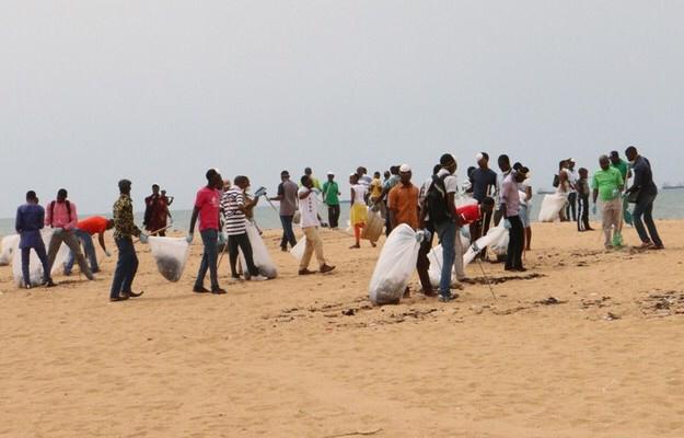 Journée africaine des mers et des océans : 6 tonnes de déchets plastiques recueillies