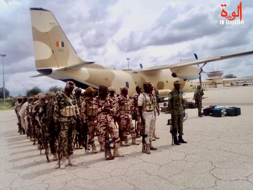 Tchad : un contingent de l'armée est arrivé à Abéché. © Alwihda Info