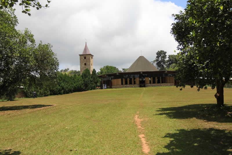 Illustration. Le monastère de Dzogbégan (Danyi). © Togo Tourisme
