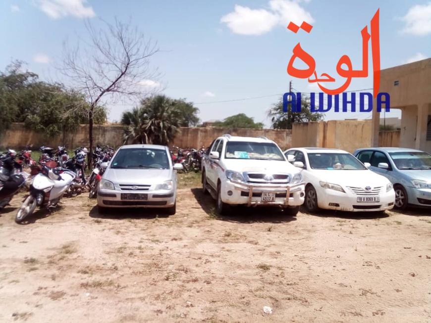 Tchad : 97 motos, 30 Rakcha et 4 véhicules saisis à Abéché. © Alwihda Info