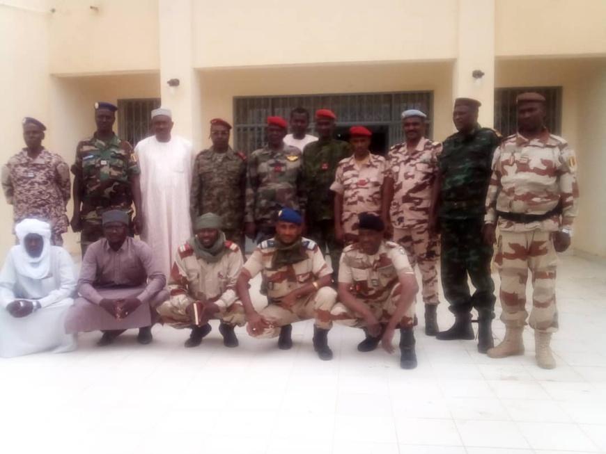 Tchad : le chef d'état-major de l'armée de terre appelle à redoubler d'efforts. © ONAMA Abéché
