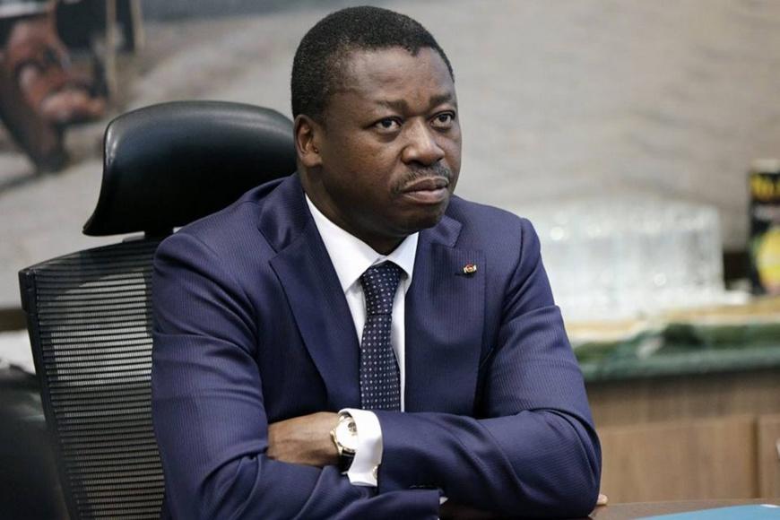 Le président togolais Faure Gnassingbé. © DR