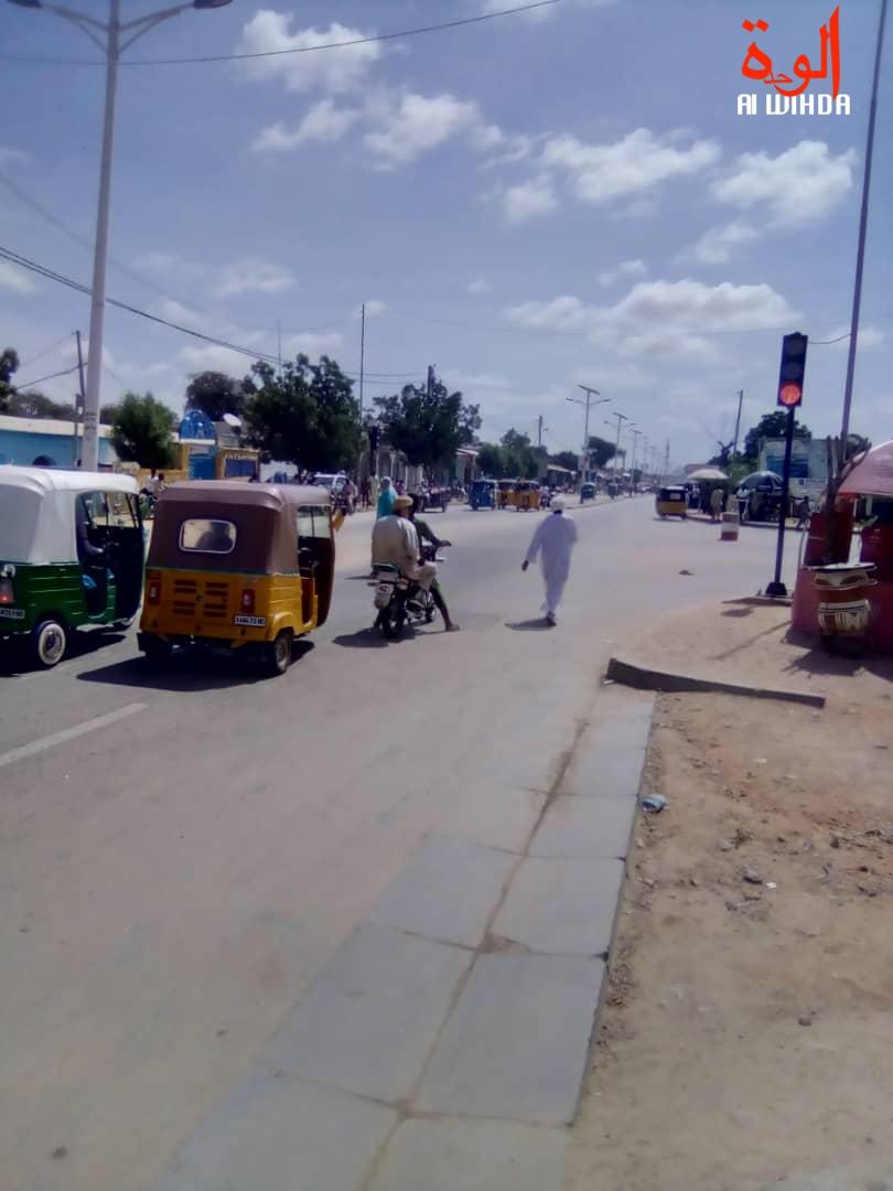 Tchad : le feu tricolore s'installe à Abéché mais cause des accidents. © Alwihda Info