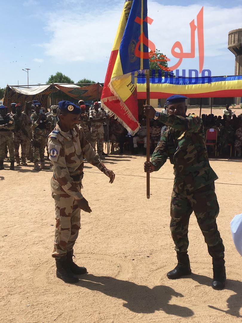 Tchad : passation de service à la tête de la légion de gendarmerie n°4. © Alwihda Info