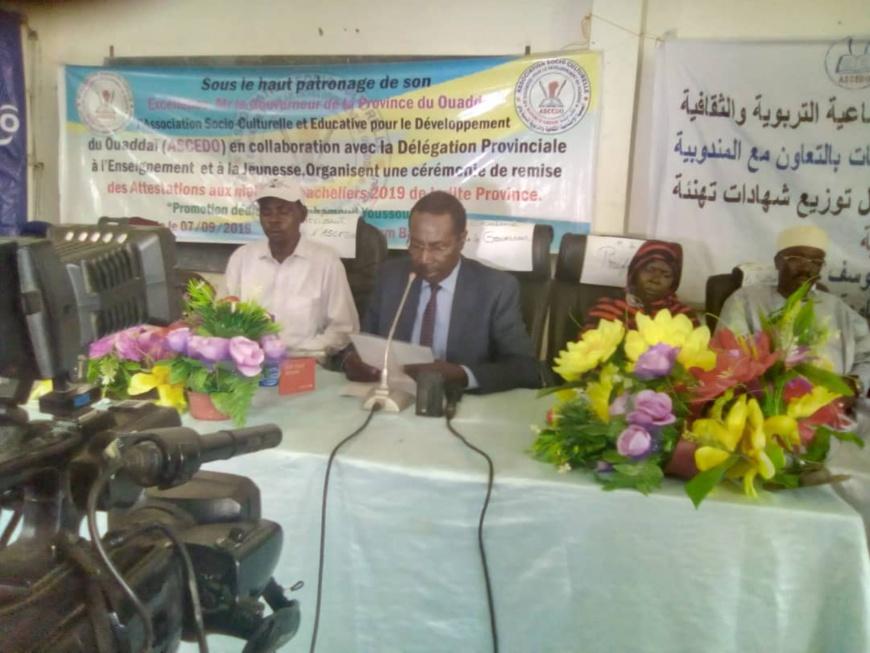 Tchad : le gouverneur Ramadan Erdebou propose des cours de citoyenneté dès la primaire. © Alwihda Info