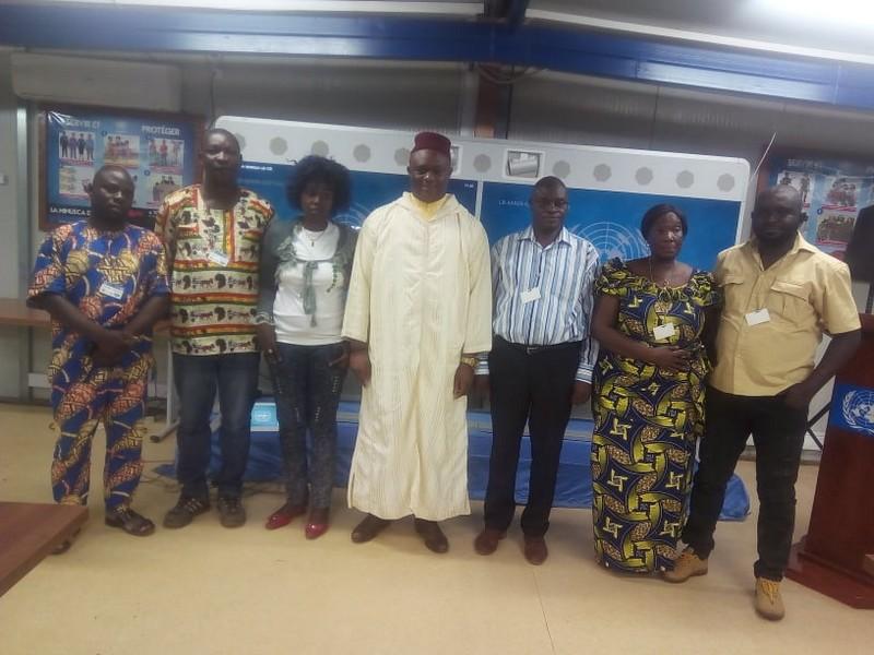 Centrafrique : renouvellement du bureau de la section UPF (Union de la Presse Francophone).