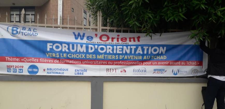 Tchad : un forum d'orientation sur les filières de formations universitaires ou professionnelles. © Alwihda Info