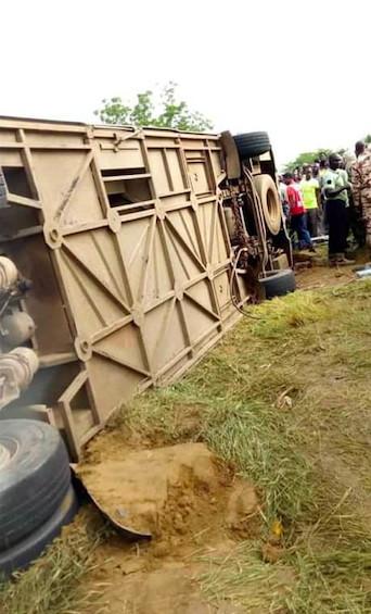 Tchad : au moins 9 morts et 20 blessés dans un grave accident de bus. © DR